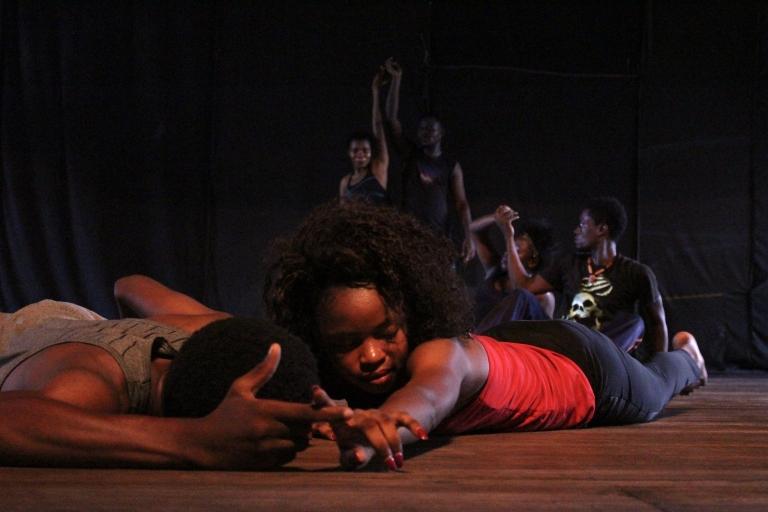Danstraining Arts&Actions Congo